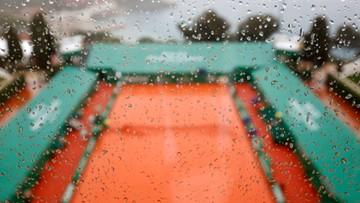 ATP w Monte Carlo: Deszcz torpeduje plany organizatorów