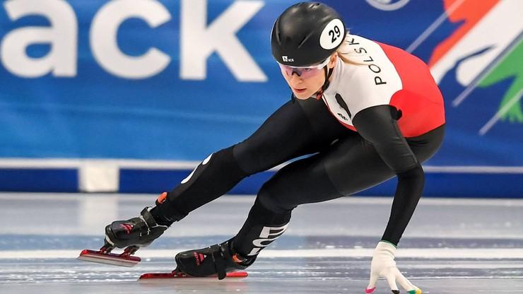 PŚ w short tracku: Maliszewska poza podium w wyścigu na 500 m