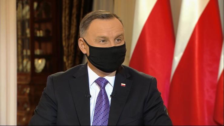 Andrzej Duda zaszczepi się w poniedziałek. Ujawnił, którą szczepionką
