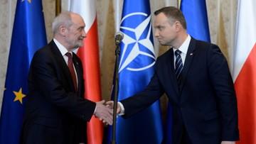 Prezydent oczekuje przejrzystej polityki kadrowej w wojsku