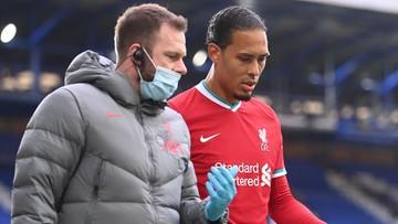 Virgil van Dijk podda się operacji. Czeka go długa przerwa