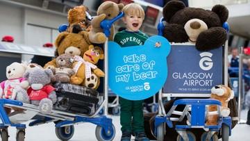 """""""Misioport"""" na lotnisku w Glasgow. Zgubione pluszaki czekają na swoich właścicieli"""