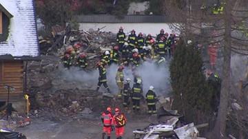 Wybuch gazu w Szczyrku. Zatrzymano trzy osoby