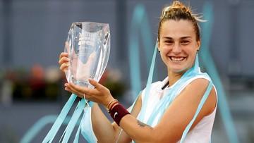 WTA w Madrycie: Sabalenka triumfatorką turnieju