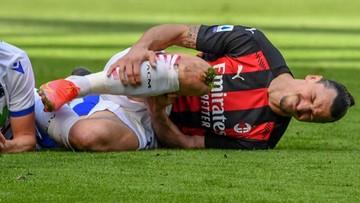Kontuzja Zlatana Ibrahimovica. Piłkarz nie wystąpi w mistrzostwach Europy