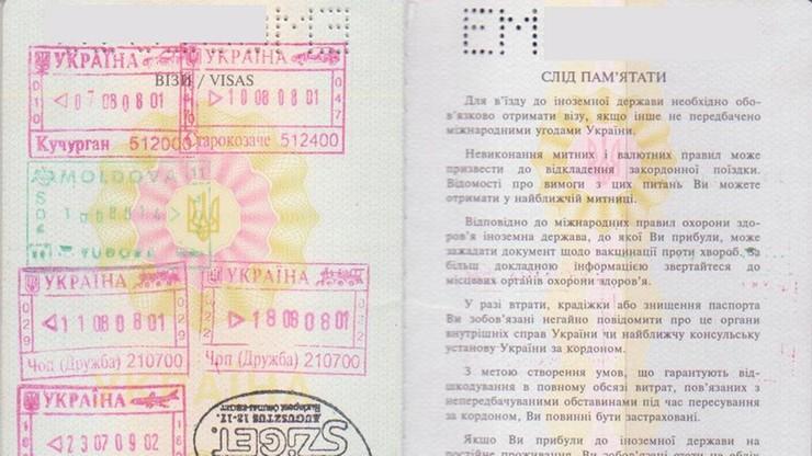Propozycja zniesienia wiz dla Ukraińców już w kwietniu