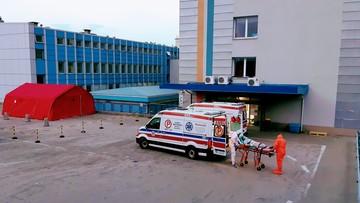 """Chorzy na covid wywożeni ze śląskich szpitali. """"To dramatyczne dane"""""""