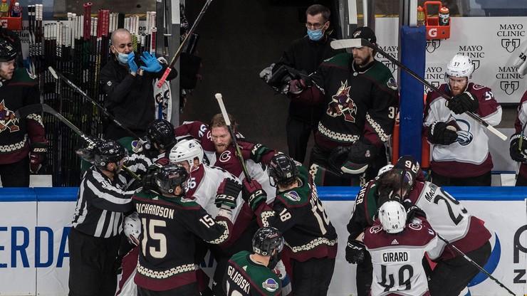NHL: Stars lepsi od Avalanche w pierwszym meczu półfinału konferencji