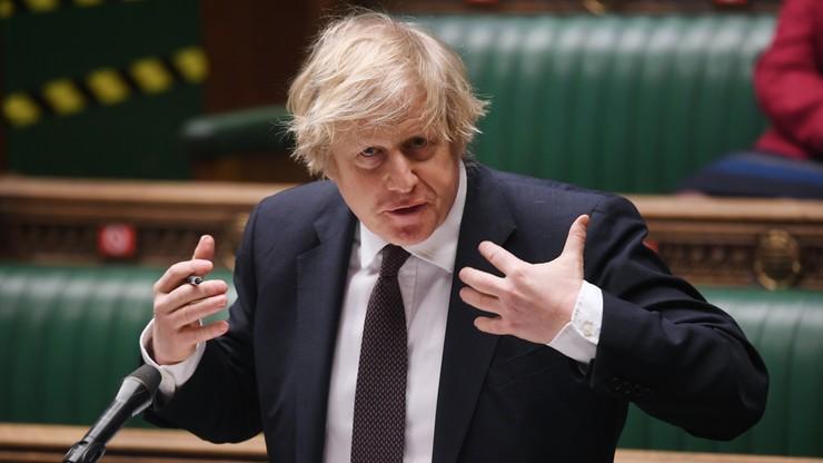 Boris Johnson będzie przekonywał UE, by nie zakazywała eksportu szczepionek