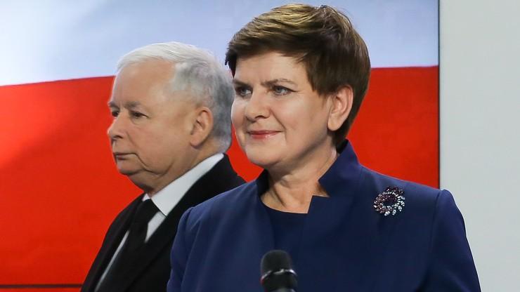 """""""FAZ"""": prezes otoczył Szydło narodowymi twardogłowymi"""