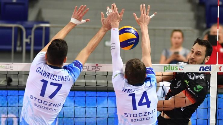PlusLiga: Historyczne i sensacyjne zwycięstwo Stoczni Szczecin!