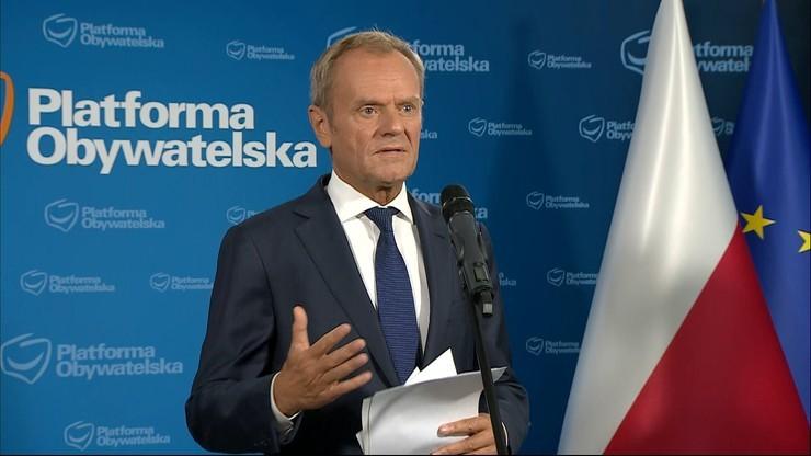Kryzys na granicy. Donald Tusk zabrał głos