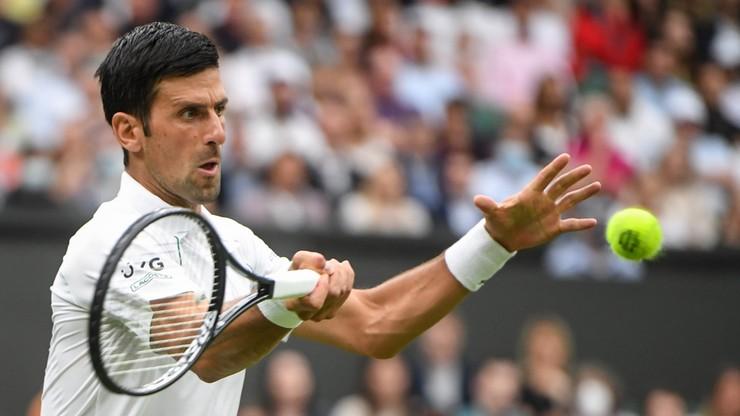 Wimbledon: Novak Djokovic zameldował się w drugiej rundzie