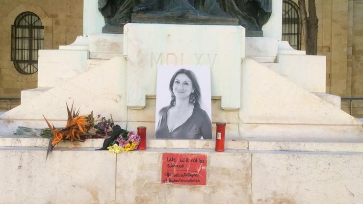 Zabójstwo maltańskiej dziennikarski śledczej. Zatrzymany znany biznesmen