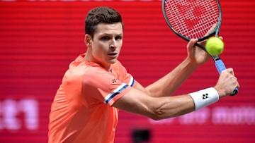 ATP w Paryżu: Hubert Hurkacz awansował do 1/8 finału debla