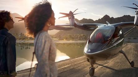 Rewolucja w podróżowaniu, amerykańskie linie lotnicze kupują latające taksówki