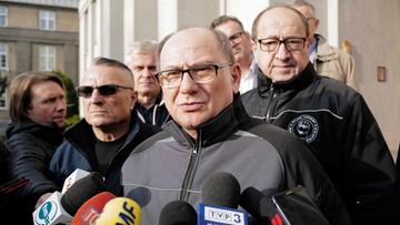 Związkowcy okupują siedzibę Polskiej Grupy Górniczej. Żądają podwyżek