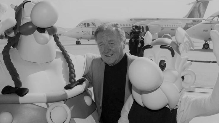 Zmarł Albert Uderzo - twórca komiksów o Asteriksie