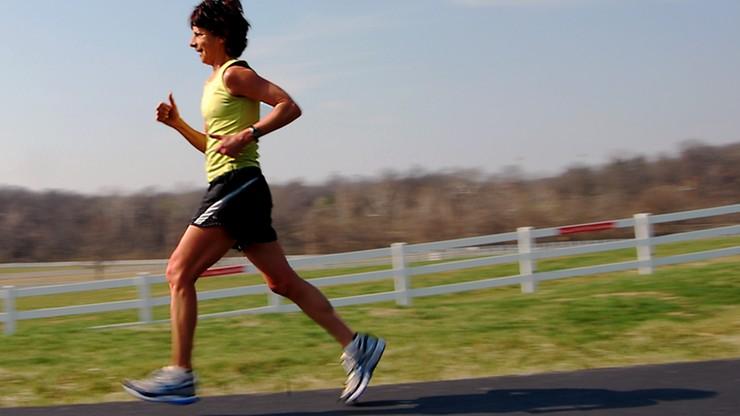 Bieganie lepsze dla kości niż jazda na rowerze