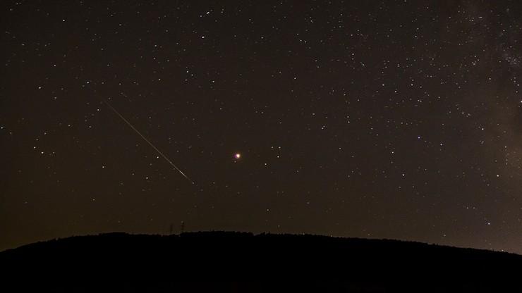 """Perseidy 2020. Na niebie będzie można zaobserwować """"spadające gwiazdy"""""""