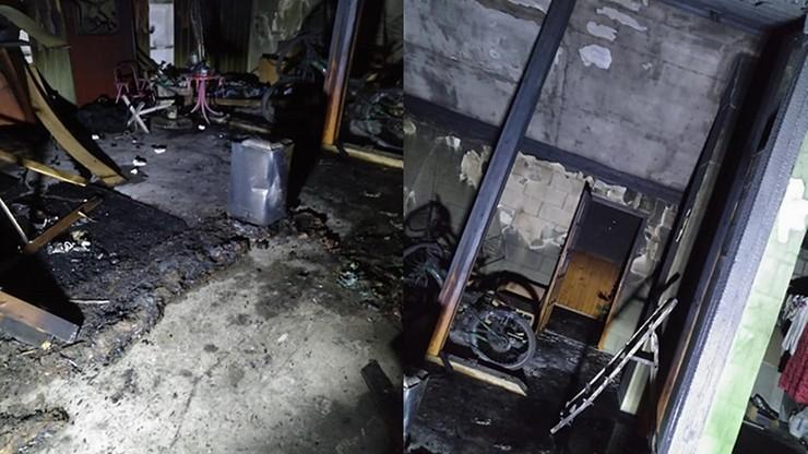 Chciał spalić dom z rodziną, podłożył ogień na poddaszu. Najbliższe miesiące spędzi w areszcie