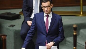 """Morawiecki w """"Washington Examiner"""": musimy naprawić wadliwy system sądownictwa"""