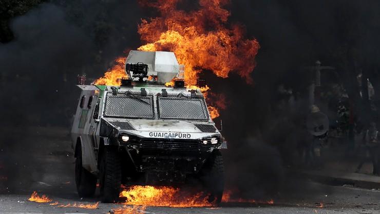 Milionowe rozbieżności w liczbie głosujących w Wenezueli. Zginęło 10 protestujących