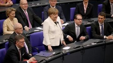 Bundestag po raz czwarty wybrał Angelę Merkel na kanclerza