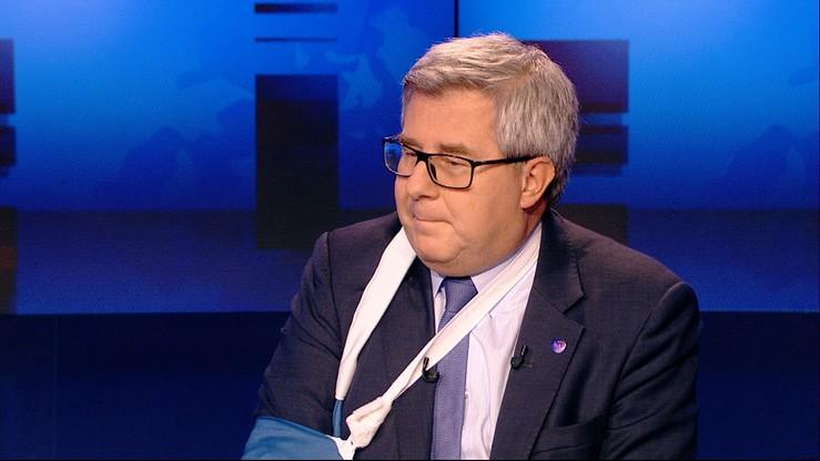 """""""Długa i ciekawa"""". Czarnecki o rozmowie Kaczyńskiego z Saryusz-Wolskim"""