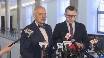 Korwin-Mikke: Broniarz powinien zostać aresztowany, a ZNP rozwiązany