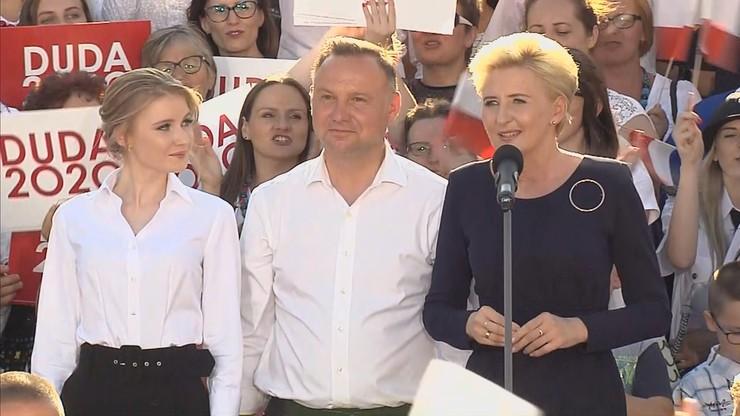 """Agata Duda zabrała głos. """"Zwracam się do was jako żona Andrzeja"""""""
