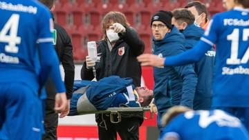 Groźne zdarzenie w meczu Bundesligi! Piłkarz Schalke potrzebował kroplówki