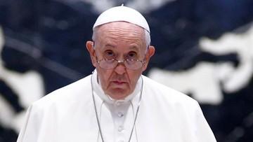 """Papież Franciszek w szpitalu. """"Schorzenie było poważne"""""""
