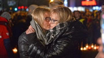 """""""Jego śmierć nie pójdzie na marne"""". Żona Pawła Adamowicza zabrała głos podczas zgromadzenia"""