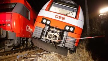 Wypadek kolejowy pod Wiedniem. 17 osób rannych