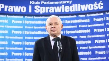 Kaczyński: w sprawach najwyższej wagi w kierownictwie PiS poglądy muszą być jednolite