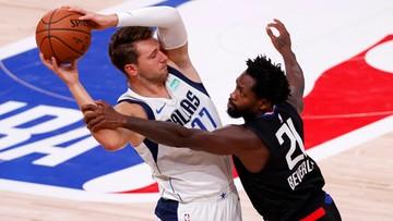 NBA: Dallas Mavericks wyrównali stan rywalizacji z LA Clippers
