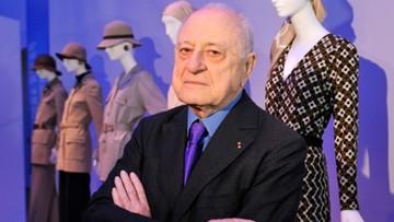 Zmarł Pierre Berge - współzałożyciel domu mody Yves Saint Laurent