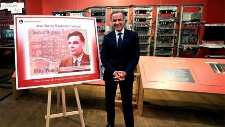Alan Turing pojawił się na banknocie o nominale 50 funtów brytyjskich