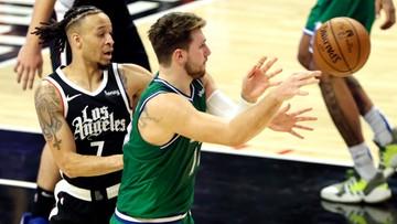 NBA: Fantastyczny występ Dallas Mavericks! Clippers zdeklasowani