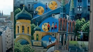 Ekologiczny mural w stolicy. Ma działać jak 650 drzew