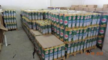 23 tony fałszywego proszku do prania. Przemyt udaremniony w bazie promowej w Gdyni