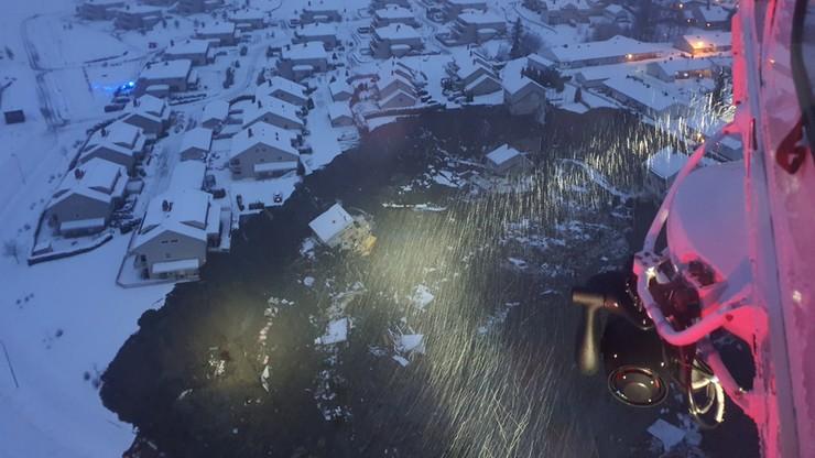 Norwegia: nieopodal Oslo osunęła się ziemia. 11 osób zaginionych