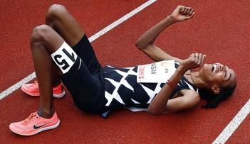 Rekord świata Hassan, Skrzyszowska z minimum na igrzyska