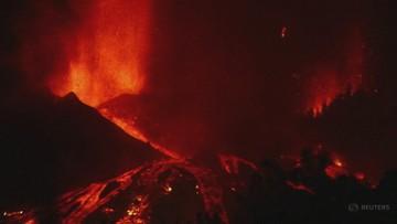 Wybuch wulkanu na Wyspach Kanaryjskich. Ewakuacja tysięcy ludzi