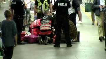 """Poród na peronie warszawskiego dworca. """"Dziecko jest całe i zdrowe"""""""