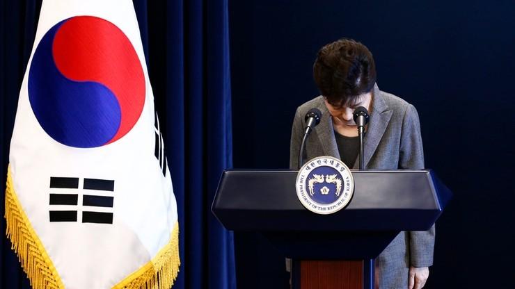 Parlament za odsunięciem od władzy prezydent Park