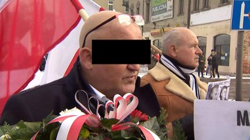 Piotr R. z zarzutami ws. marszu narodowców przy okazji 74. rocznicy wyzwolenia obozu Auschwitz