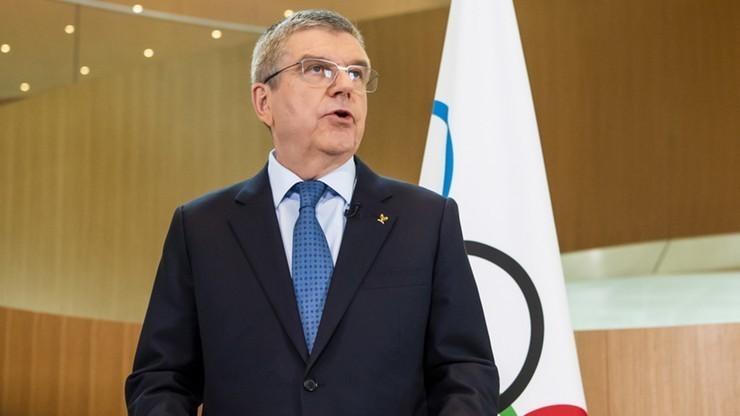 Thomas Bach przewodniczącym MKOl przez kolejne cztery lata