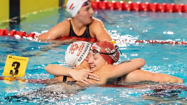 MP w pływaniu: Rekordy kraju Wasick na 100 m kraulem i sztafet